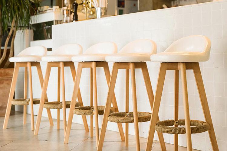 صندلی چوبی کانتر
